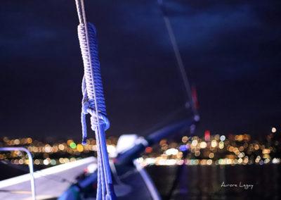 Barque de nuit.