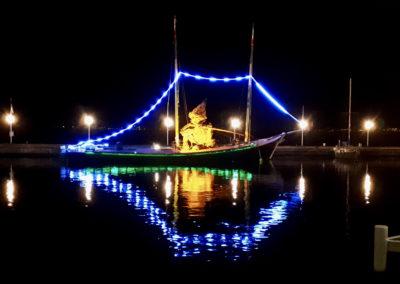 Un flottin sur la barque